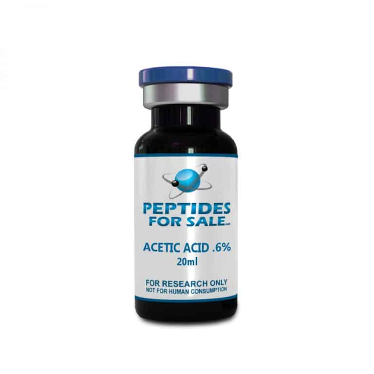 Buy Acetic Acid ( AA ) 0.6% Solution in a 20ml Sealed bottle
